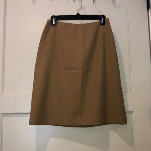 Tan Business Casual Skirt